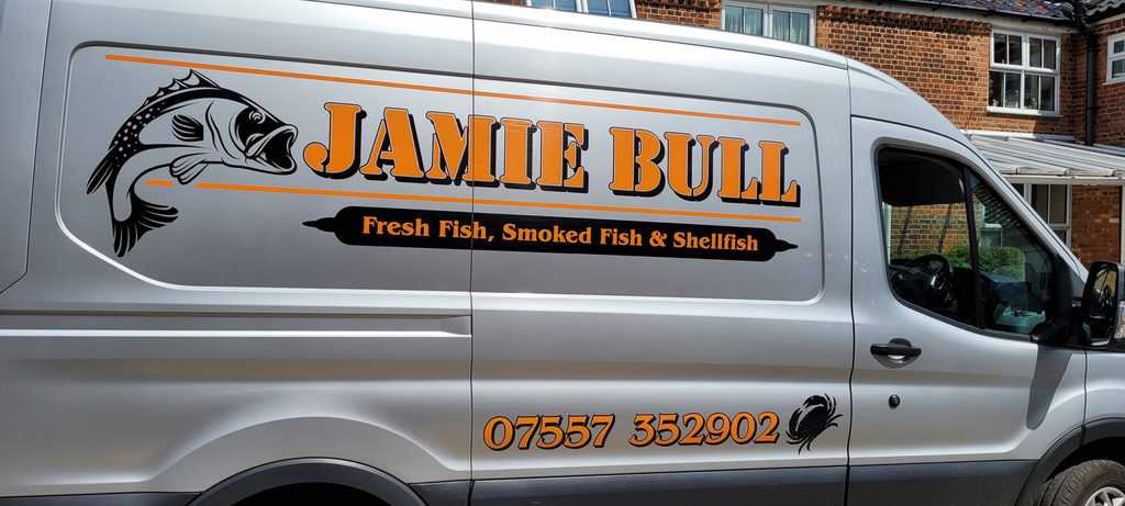 Delicious fresh fish by Jamie Bull for the Limes